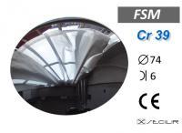 Cr 39 FSM Gümüş C74 B6 UV Filtre