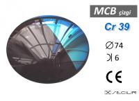 Cr 39 MCB Çizgi Degrade C74 B6 S10 UV Filtre
