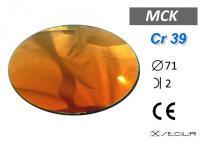 Cr 39 MCK Kırmızı C71 B2 UV Filtre