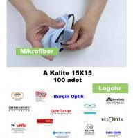 Mikrofiber A Beyaz 15 A100 Logolu