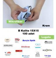 Mikrofiber B Krem MK15 A100 Logolu