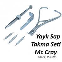 Yaylı Sap Takma Pense Seti Mc Cray