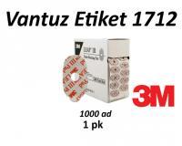 3M 1712 Vantuz Pedi (1000)