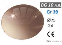 Cr 39 BG10 AR Kahve Degrade AR B6 C71 UV Filtre