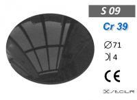Cr 39 S09 Füme C71 B4 UV Filtre