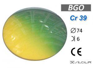 Cr 39 BG0 C74 B6 UV Filtre