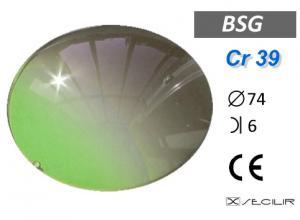 Cr 39 BSG C74 B6 UV Filtre