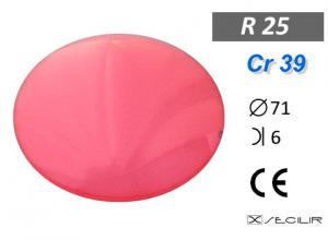 Cr 39 R25 Kırmızı B6 C71 UV Filtre
