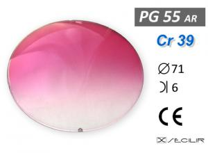 Cr 39 PG55 A.R.Bordo  Degrade B6 C71 UV Filtre