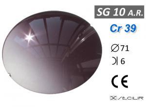 Cr 39 SG10 AR Füme Degrade AR B6 C71 UV Filtre