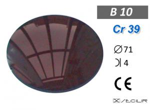 Cr 39 B10 Kahve C71 B4 UV Filtre