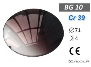 Cr 39 BG10 Kahve Degrade C71 B4 UV Filtre