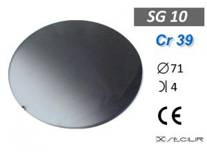Cr 39 SG10 Füme Degrade C71 B4 UV Filtre