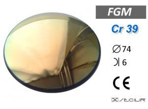 Cr 39 FGM Gold C74 B6 UV Filtre